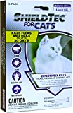 ShieldTech - Drops - Kills Flea Tick Lice Mosquitoes Eggs - Protection (3-dose) CAT (1.5+ lbs)