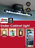 Total Vision Products Under Cabinet Multi Purpose 10 LED Light