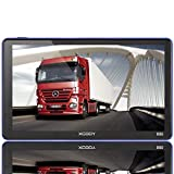 Xgody Trucking GPS Navigation 7 Inch Capacitive Touchscreen 8GB GPS Navigation System Lifetime Map Updates Spoken Turn-by-Turn Directions SAT NAV GPS Navigator System for Vehicles Support POI