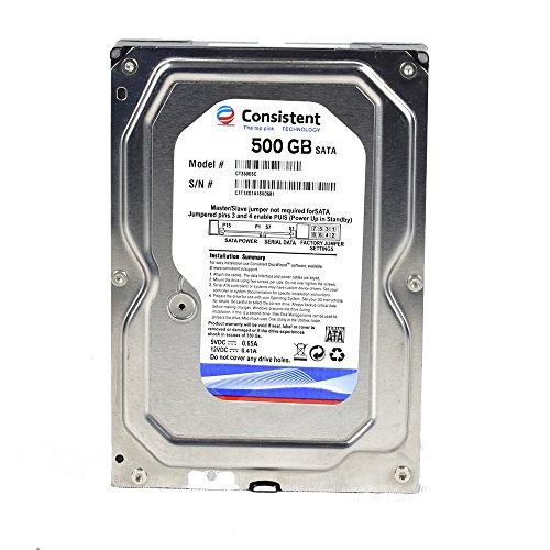 Consistent 500 GB Hard Disk for Desktop
