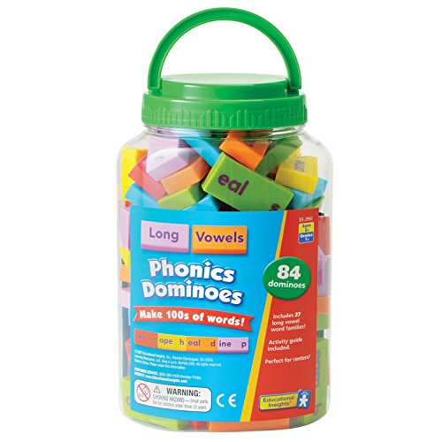 Educational Insights Phonics Dominoes - Long Vowels