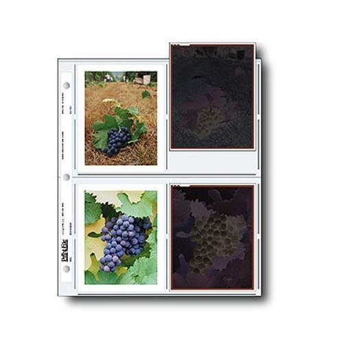 Print-File-Negative-Pages-Holds-Eight-4x5-Polaroid-Prints-or-Four-4x5-Sleeved-Negatives-Pack-of-100
