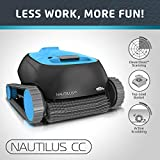 Dolphin Nautilus CC Automatic Robotic Pool Cleaner with Large Capacity Top Load Filter Basket Ideal for...