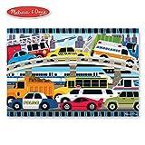 "Melissa & Doug Traffic Jam Floor Puzzle (Beautiful Original Artwork, Sturdy Cardboard Pieces, 24 Pieces, 24"" L x 36"" W)"