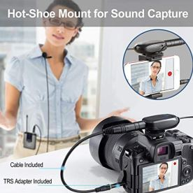 Wireless-Headset-Lavalier-Microphone-System-Alvoxcon-Dual-Wireless-Lapel-Mic-for-iPhone-DSLR-Camera-PA-Speaker-YouTube-Podcast-Video-Recording-Conference-Vlogging-Church-Interview-Teaching
