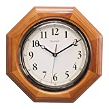 Chaney 46101A1 12 inch Octagon Wood Clock