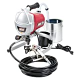 Airless Paint Sprayer Kit Krause & Becker. It Is 5/8 Horsepower. Made From Lightweight Stainless Steel Metal. Easy Cleaning and Durable. Easy Twist Pressure Control