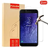 [2-Pack] SamsungGalaxyJ42018 Screen Protector, PULEN HD Clear Film[Scratch Resistant Anti-fall] [Bubble Free] [Anti-fingerprints] 9H Hardness Tempered Glass for SamsungGalaxyJ42018
