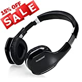 AUSDOM M07 Bluetooth 4.0 Wireless Stereo Headphone Foldable Over-ear Headsets with Mic Gaming Headphones Mode for PC/Cell Phones/TV