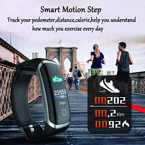 Smart Watch for Android and iOS Phone,Fitness Tracker Watch with Heart Rate Blood Pressure Watch Waterproof Smart… 2