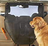 High Road Dog Car Barrier with Full View Mesh Cover and Padded Steel Frame