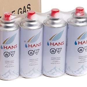 Hans Butane Gas Canisters for Camping Stoves