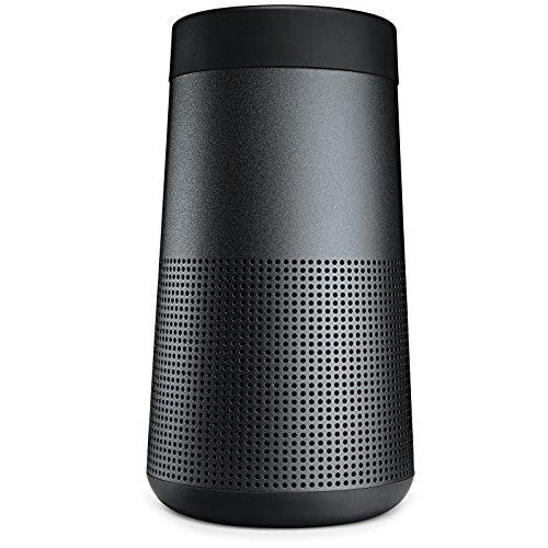 Bose SoundLink Revolve Portable Bluetooth 360 Speaker, Triple Black