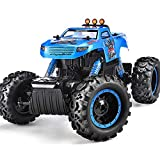 Remote Control Trucks Monster RC Car 1: 12 Scale Off Road Vehicle 2.4Ghz Radio Remote Control Car 6WD High Speed Racing All Terrain Climbing Car Gift for Boys