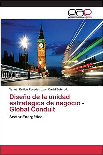 Diseño de la unidad estratégica de negocio - Global Conduit