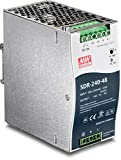 TRENDnet 240 W Single Output Industrial DIN-Rail Power Supply, Extreme -25 to 70 °C (-13 to 158 °F) Operating Temp, TI-S24048