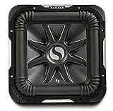 Kicker S15L7 Car Audio Solobaric L7 Square 15' Sub Dual 2 Ohm 2000W 11S15L72 Subwoofer L7S15
