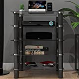 Product review for Ryan Rove Hamlin Glass Component Stand in Black