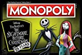 Monopoly Nightmare Before Christmas 25 Years Board Game | 25th Anniversary of The Iconic Tim Burton...