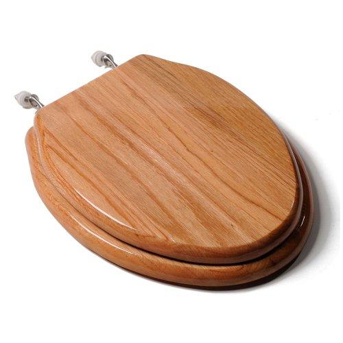 Comfort Seats C1B1E-17BN Designer Solid Wood Toilet Seat...