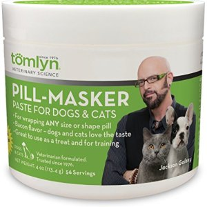 TOMLYN Pill-Masker Bacon-Flavored Paste for Cats, 4oz 12