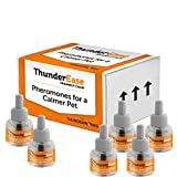 ThunderEase Dog Calming Pheromone Diffuser Refill - Relieve Separation Anxiety, Stress Barking and Chewing, Fear of Fireworks and Thunderstorms (180 Day Supply)