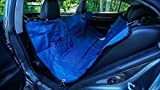 Dog Car Seat Cover for Backseat - Heavy Duty and Waterproof - Hammock Covertible