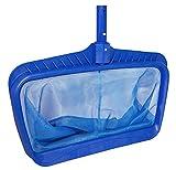 Professional Heavy Duty Deep-Bag Pool Rake, Blue (Extra Strong)