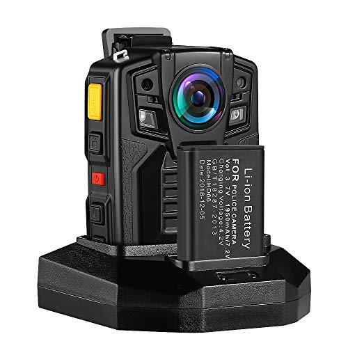 BOBLOV Body Camera Ambarella A7 32G 1296P Built-in Memory Audio & Video Recorder 170° Wide Angle Night Vision with 360° Rotation Clip