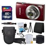 Canon PowerShot ELPH 180 Digital Camera- Accessory Bundle