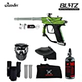 MAddog Azodin Blitz 3 HPA Paintball Gun Package - Green
