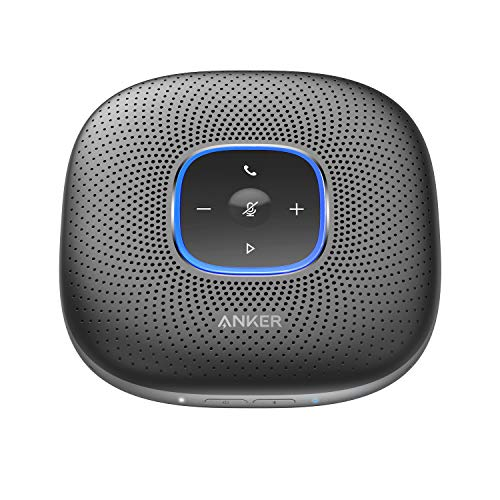 Anker-PowerConf-Bluetooth-Speakerphone-with-6-Microphones-Enhanced-Voice-Pickup-24-Hour-Call-Time-Bluetooth-5-USB-C-Conference-Speaker-Compatible-with-Leading-Platforms-PowerIQ-Technology