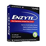Enzyte| Doctor-Formulated for a Boost in Blood Flow for Natural Male Enhancement with Asian Ginseng, Ginkgo Biloba, Grape Seed Extract - 30 Capsules