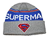 Superman Emblem Adult Cuff Knit Beanie