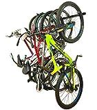 Omni Bike Storage Rack - Holds 5 Bicycles - Home & Garage Adjustable Bikes Wall Hanger Mount