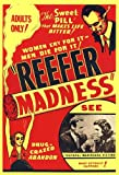 Pyramid America Reefer Madness 1936 Movie Poster Print