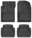 Weathertec AVM - Semi Universal Trim to Fit Mats - 4-Piece Set (Black)