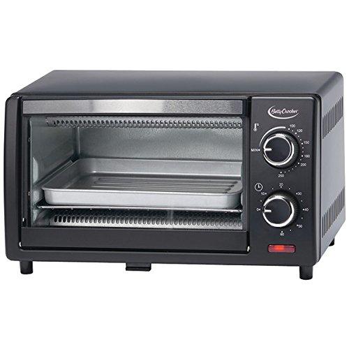 Betty Crocker BC-1664CB 9L Toaster Oven, Quartz heating elements