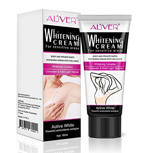 Natural Underarm Whitening Cream, Armpit Lightening and Brightening Deodorant Cream, Body Creams, Underarm Repair Whitening Cream Between Legs Knees Sensitive Areas