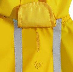 Best-Pet-Supplies-Voyager-Waterproof-Dogs-Rain-Poncho-Yellow-Medium