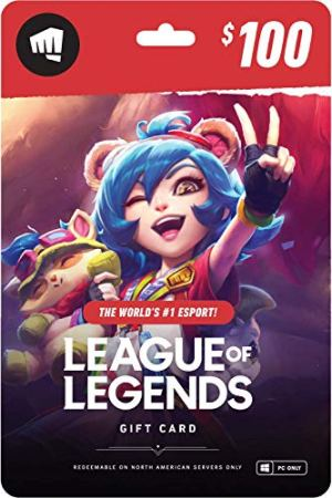 League of Legends 0 Gift Card – NA Server Only [Online Game Code]