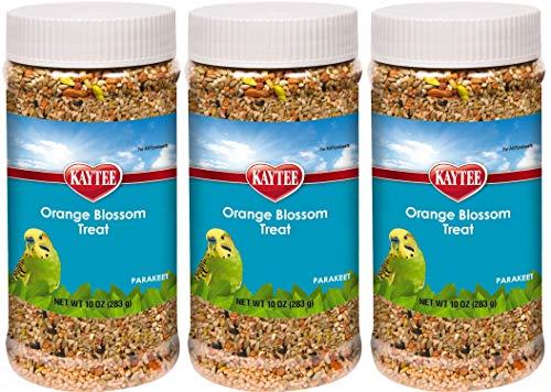 Kaytee Forti Diet Pro Health Parakeet Orange Blossom Honey Treats, 10-Ounce (Pack of 3) 1