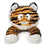 WINPAL Children's Neck Pillow for Travel in the car or Plane, Reading, Watching TV   tiger Design   Stuffed Animal and Plush Pillow for Kids   Soft a Supportive   Best Neck Support and Rest Pillow