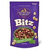 Old Mother Hubbard Bitz Natural Crunchy Dog Training Treats, Chicken, Liver & Veggies, 8-Ounce Bag