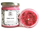 Art of the Root Come to Me 8 oz Soy Herbal Spell Candle for Love, Commitment, Seduction (Magick, Wiccan, Pagan, Hoodoo)