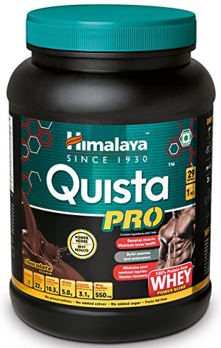 Himalaya Quista Pro Advanced Whey Protein Powder – 1kg (Chocolate)