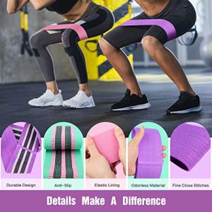 FITFORT-Resistance-Bands-for-Legs-and-Butt-Exercise-Bands-Non-Slip-Elastic-Booty-Bands-3-Levels-Workout-Bands-Women-Sports-Fitness-Band-for-Squat-Glute-Hip-Training