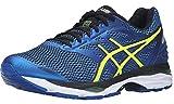 ASICS Men's Gel-Cumulus 18 Running Shoe, White/Silver/Black, 12 M US
