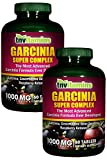 Garcinia Cambogia 500 Mg Plus Green Coffee and Raspberry Ketones (2x60 Tablets)