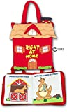 Pockets of Learning Right at Home Quiet Book, Animal Activity Busy Book for Toddlers and Children